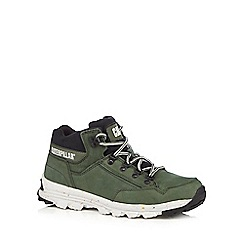Caterpillar - Dark green 'Interact' hiking boots