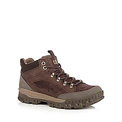 Caterpillar - Dark brown 'Evolve' hiking boots