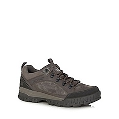 Caterpillar - Dark grey 'Evolve' leather hiking shoes