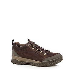 Caterpillar - Dark brown low hiker boots