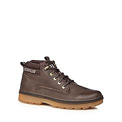 Caterpillar - Brown 'Knox' Chukka boots