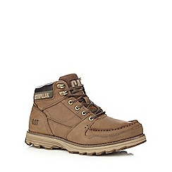 Caterpillar - Brown apron boots