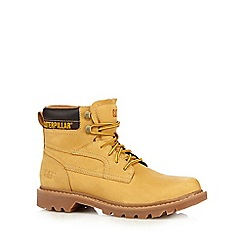 Caterpillar - Beige ankle worker boots