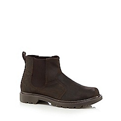 Caterpillar - Dark brown 'Thornberry' Chelsea boots