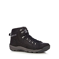 Caterpillar - Black leather hiking boots