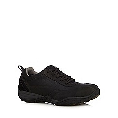 Caterpillar - Black leather 'Utilize' trainers
