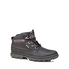Caterpillar - Black 'Grady' Chukka boots
