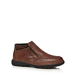 Rieker - Brown shower proof shoes
