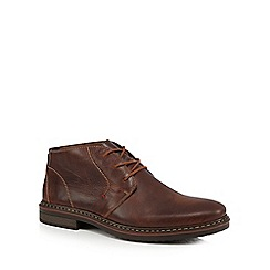 Rieker - Dark brown Chukka boots