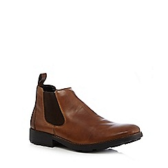 Rieker - Big and tall brown chelsea boots