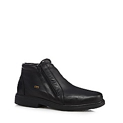 Rieker - Black double zip boots