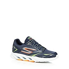 Skechers - Big and tall navy 'go run vortex' running shoes