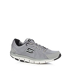 Skechers - Big and tall grey 'synergy' trainers