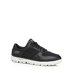 Skechers - Big and tall black 'on the go' trainers