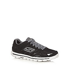 Skechers - Big and tall black trainers