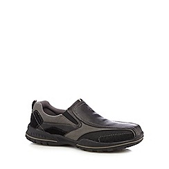 Skechers - Black 'Vorlez' slip on shoes