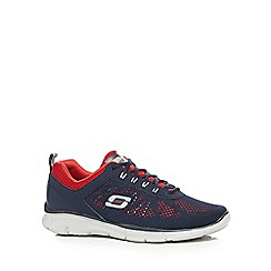 Skechers - Navy 'Equalizer Deal Maker' trainers
