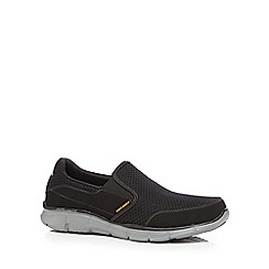 Skechers - Black 'Equalizer Persistent' sports shoes