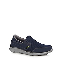Skechers - Navy 'Equalizer Persistent' sports shoes