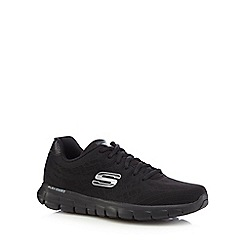 Skechers - Black 'Synergy Fine Tune' trainers