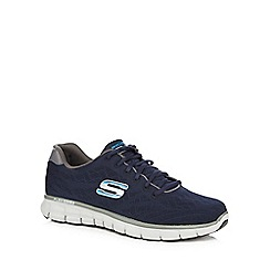 Skechers - Navy gel infused trainers