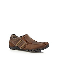 Skechers - Brown 'Diameter Zinroy' slip on shoes