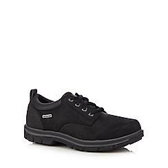 Skechers - Black leather 'Segment Bertan' trainers
