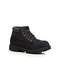 Skechers - Black 'Sargeants Verdict' leather boots