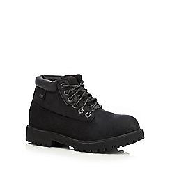Skechers - Black 'Sargeants Verdict' leather boots