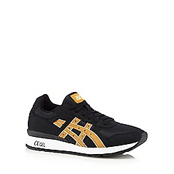 Onitsuka Tiger - Black 'gt-ii' suedette trainers