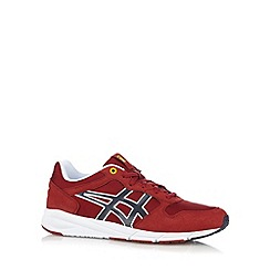 Onitsuka Tiger - Red 'Shaw' suedette trainers