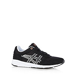 Onitsuka Tiger - Black 'Shaw' suedette trainers