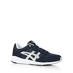 Onitsuka Tiger - Navy 'Shaw' suedette trainers