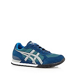 Onitsuka Tiger - Green 'Colorado' suede trainers