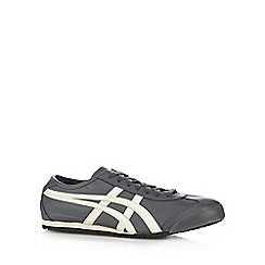 Onitsuka Tiger - Grey 'Mexico' leather trainers