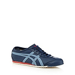 Onitsuka Tiger - Blue leather trainers