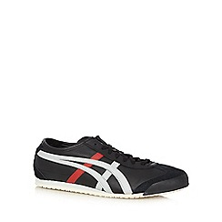 Onitsuka Tiger - Black 'Mexico 66' leather trainers
