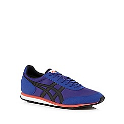 Onitsuka Tiger - Blue contrast logo performance trainers