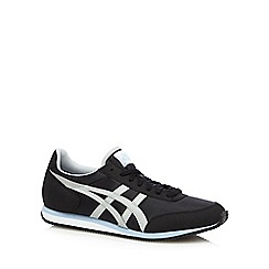 Onitsuka Tiger - Black contrast logo performance trainers