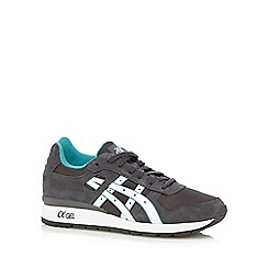 Onitsuka Tiger - Grey 'gt-ii' suede trainers