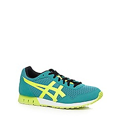 Onitsuka Tiger - Green diamond mesh trainers