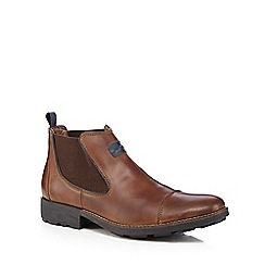 Rieker - Brown leather Chelsea boots