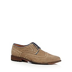 Lotus Since 1759 - Tan 'Anton' suede brogues