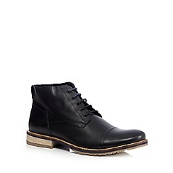 Lotus Since 1759 - Black 'Wheeler' leather boots