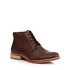 Lotus Since 1759 - Brown 'Wheeler' leather boots