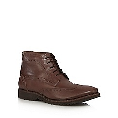 Lotus Since 1759 - Brown leather brogue boots