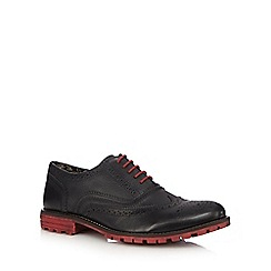 Lotus Since 1759 - Black leather contrast Oxford brogue