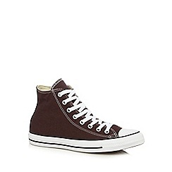 Converse - Plum 'CTAS Seasonal' high top trainers
