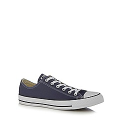 Converse - Navy canvas trainers