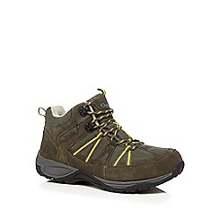 Chatham Marine - Khaki 'Kootenary' lace up trainers